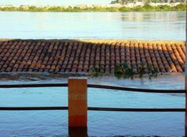 Nível do Rio São Francisco sobe 8 metros; B. Jesus da Lapa está em alerta