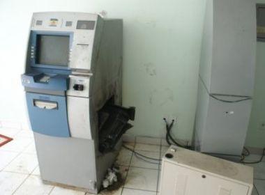 Coité: Caixa eletrônico é arrombado no distrito de Salgadália