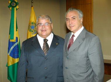 PMDB deverá ter chapa 'puro-sangue' em Salvador; Michel Temer confirma presença em convenção