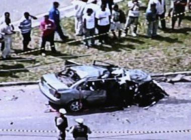 Camaçari: Dois morrem e um fica gravemente ferido em acidente próximo ao Polo