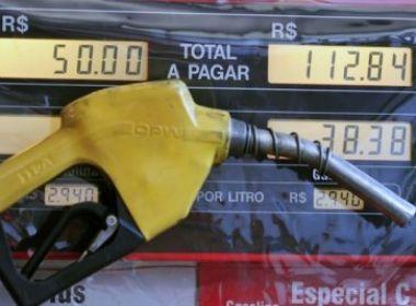 Gasolina e óleo diesel mais caros a partir desta quarta