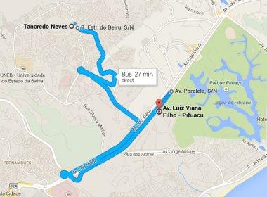 Ferramenta de trânsito do Google está disponível em Salvador