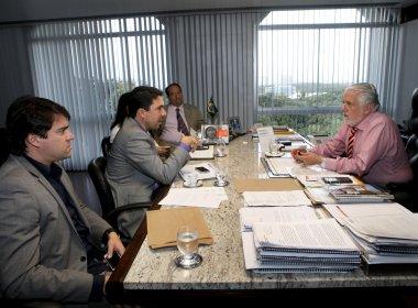 Reunião entre prefeito e governo da Bahia visa benefícios à indústria de Madre de Deus