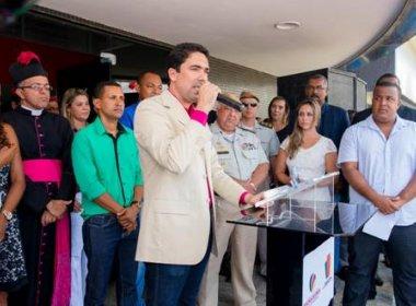 Madre de Deus inaugura a maior cobertura por videomonitoramento do país