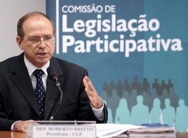 DEPUTADO FEDERAL ROBERTO BRITTO É CANDIDATO A DEPUTADO ESTADUAL