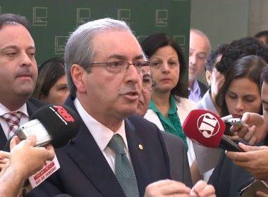Cunha rompe formalmente com governo, acusa Janot e se diz vítima de 'constrangimento'