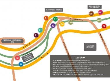 Obras do metrô alteram pontos de parada de 32 linhas de ônibus