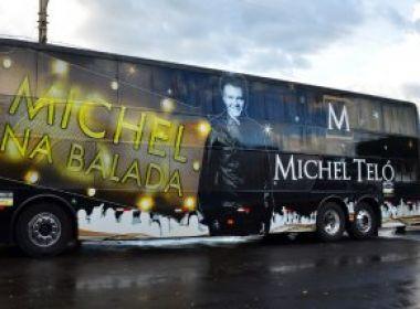 Ônibus de Michel Teló se envolve em acidente com três mortos no Paraná