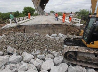 Ponte em Riachão do Jacuípe deve ser liberada até sexta-feira