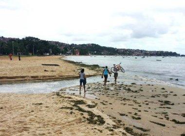 Inema aponta 52 praias impróprias para banho em Salvador e Lauro de Freitas