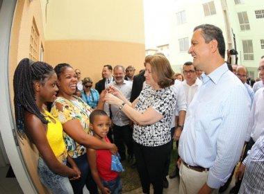 Rui entrega 2.488 unidades residenciais em Salvador, Camaçari e LEM