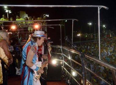 Com fobica, Armandinho é acompanhado por pipoca lotada no circuito Dodô