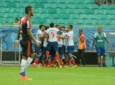 Sem brilho, Bahia bate Flamengo de Guanambi na Arena Fonte Nova
