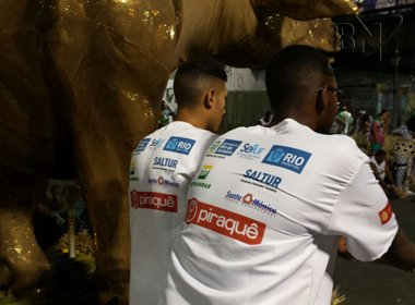 Saltur patrocinou a Mangueira e apoio teria sido de R$ 50 mil, acusa Trindade