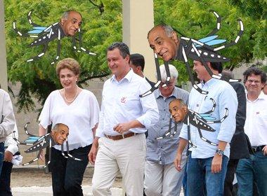 Mosquito de Dilma e Rui é fruto da aposta de Paulo Souto no passado