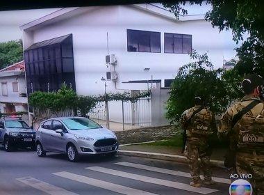 POLICIA FEDERAL FAZ OPERAÇÃO NA CASA DO EX-PRESIDENTE  LULA