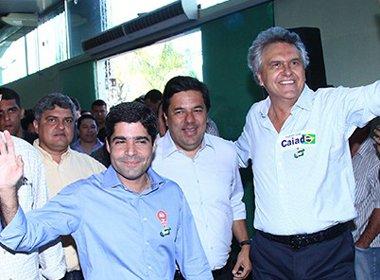 Neto sinaliza possível candidatura de Caiado à presidência em 2018