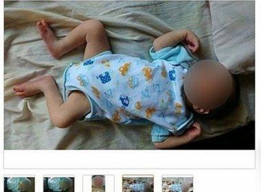 Homem é preso após postar anúncio de venda do filho de 10 meses