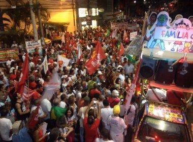 Ato 'contra o golpe' reúne mais de 25 mil pessoas em Salvador, estima PM