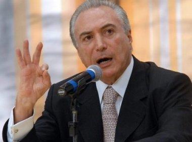 Temer quer ser presidente sem um voto, acusa Rui Costa