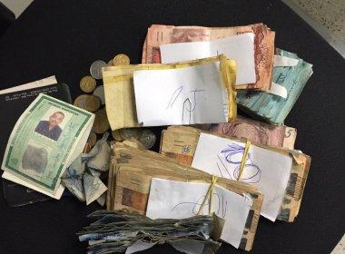 Homem é preso com R$ 16 mil em mochila durante ato a favor do governo em Brasília