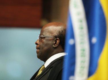 Joaquim Barbosa critica postura de deputados em votação do impeachment: 'patético'