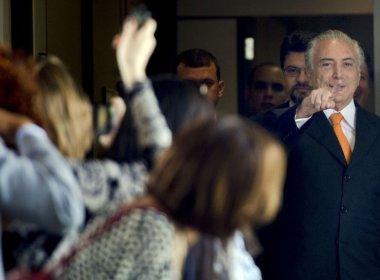 Temer planeja corte de ministérios se assumir presidência após decisão do Senado