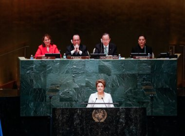 Povo brasileiro 'saberá impedir qualquer retrocesso', afirma Dilma em discurso na ONU