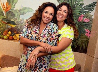Esposa de Daniela Mercury se diz feliz com sugestão de nome de cantora em circuito