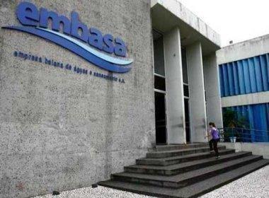 Agersa autoriza reajuste das tarifas da Embasa a partir de 6 de junho
