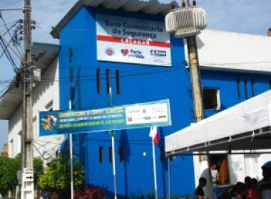 Base comunitária do Calabar comemora 5 anos com 90% de redução nos crimes