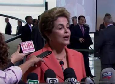 Apuração do STF provará que Delcídio 'faltou com a verdade' , diz Dilma