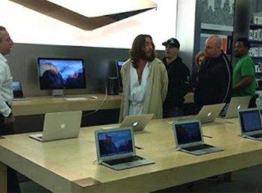 Após se recusar a sair de loja da Apple, 'Jesus' é preso nos EUA
