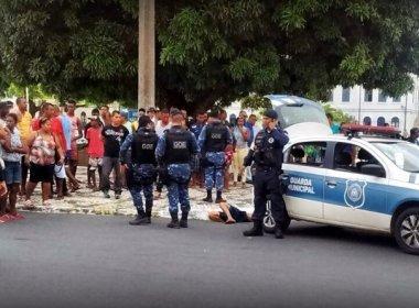 Justiça pede prisão temporária de guarda municipal suspeito de matar morador de rua