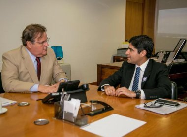 Em Brasília, ACM Neto visita três ministérios