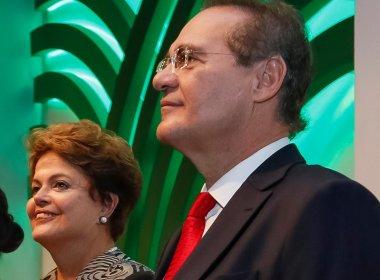 Renan Calheiros afirma a aliados que não acredita em retorno de Dilma Rousseff