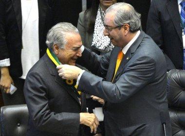 Aliados alertam que Temer pode se tornar 'refém' de Cunha