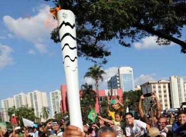 Tocha Olímpica traz visibilidade para projetos sociais voltados ao esporte na Bahia