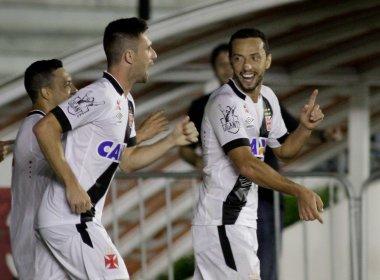 Em jogo intenso, Vasco vence o Bahia por 4 a 3 em São Januário