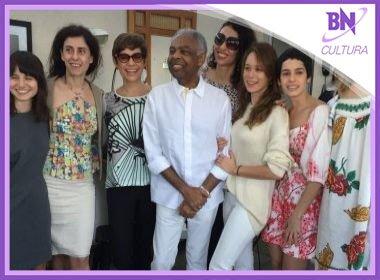 Gilberto Gil recebe visitas femininas ilustres durante recuperação