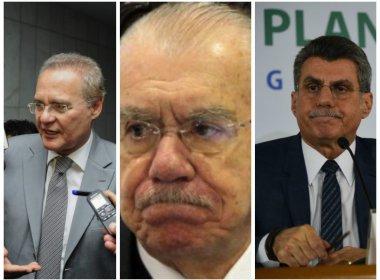 Janot pede prisão de Renan, Sarney e Jucá por tentarem barrar a Operação Lava Jato