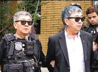 Se prendeu: Japonês da Federal recebeu próprio mandado de prisão