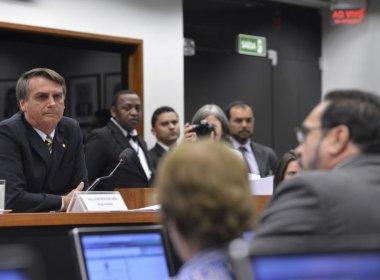 Conselho de Ética da Câmara pode abrir processo contra Bolsonaro nesta quarta-feira