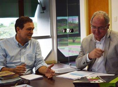 Pinheiro e reitor da UNEB debatem criação de novos campi no Subúrbio e em Lauro