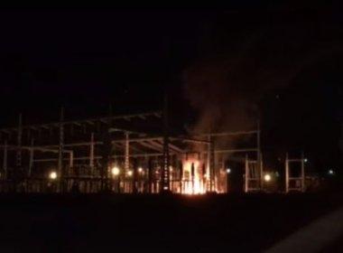 Incêndio atinge subestação de energia em Brasília e deixa órgãos federais sem luz