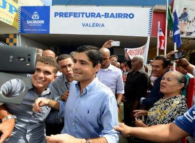 Valéria recebe sede da Prefeitura-Bairro