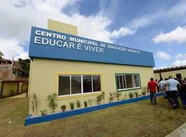 Após reconstrução, prefeitura entrega creche no bairro de Vista Alegre