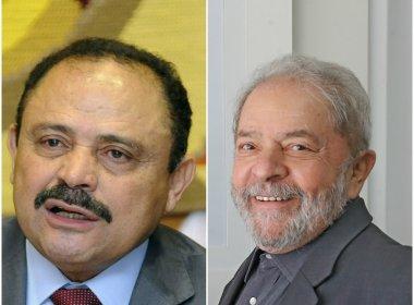 LULA E WALDIR MARANHÃO, UNIÃO DE DOIS GRANDES BRASILEIROS