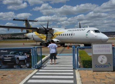 Companhias aéreas reduzem voos no interior da Bahia