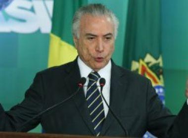 Temer autoriza TCU a fazer varredura em presentes recebidos por Dilma e Lula